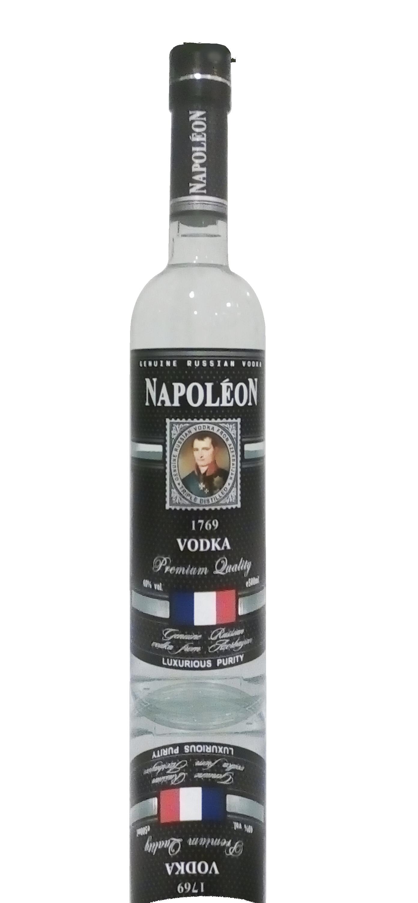 """ЗАО """"Кристалл Плюс""""водка""""Napoleon"""""""